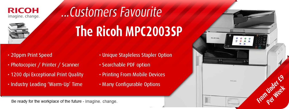 The Ricoh MPC2003SP