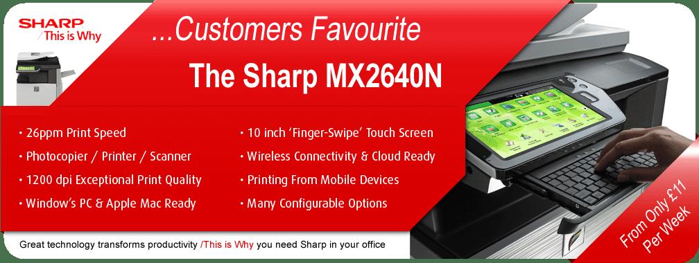Slide Sharp MX2640